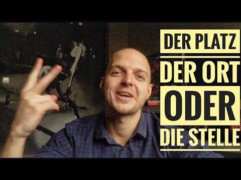 Говори как носитель: Platz, Ort Oder Stelle? Ab Wann Oder Seit Wann? Deutsche Wörter Lernen!