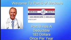 Medicare Part B Coverage- 1 844 384 5925 New Number For Quotes