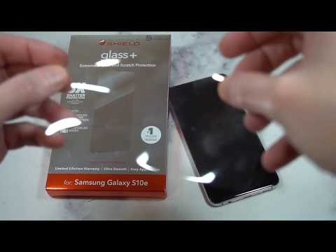 ZAGG - InvisibleShield Glass+ Screen Protector for Samsung Galaxy S10e Review