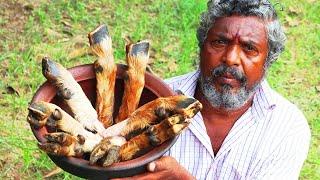 GOAT LEG SOUP Prepared by Farmer Daddy | Village Style Mutton Soup | Paya Recipe | Farmer Cooking