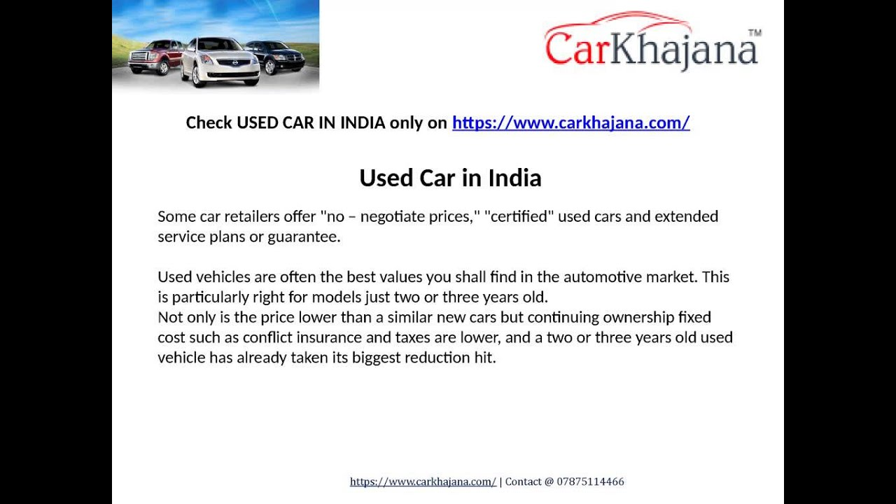 Used Cars | Used Car in India | Second Hand Cars |Used car for Sale ...