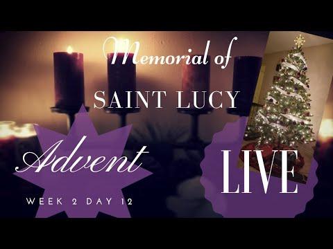 Memorial Of Saint Lucy