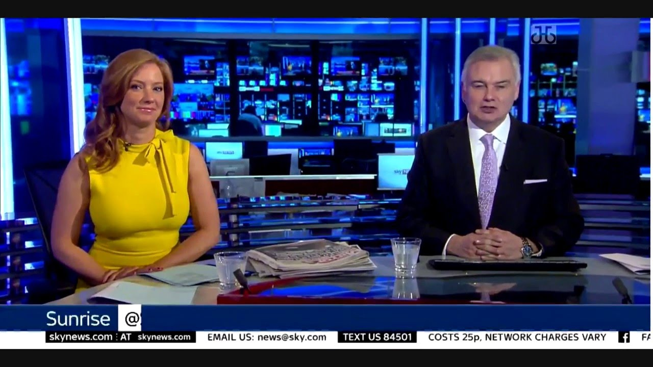 Sarah jane mee sky news more jiggling cleavage - 4 5