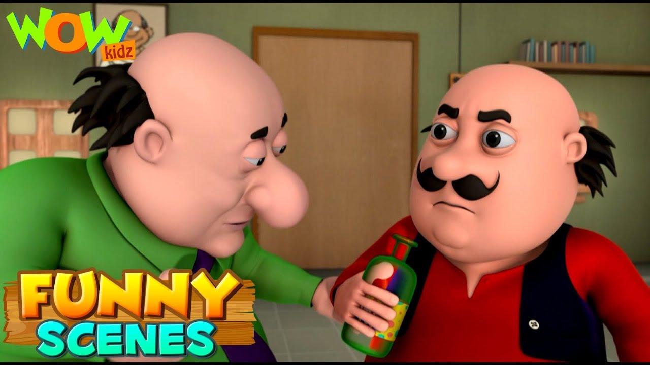 BEST SCENES of MOTU PATLU | FUNNY Cartoons in Hindi | Wow Kidz | Compilation 44