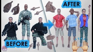 Replacement Hands for World Peacekeepers, Action figures and dolls! Monkeydepot.com