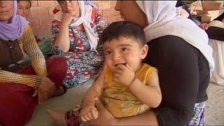 IŞİD'den kaçan Yezidiler yaşam mücadelesi veriyor
