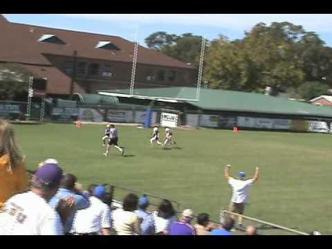 Carson's First Touchdown