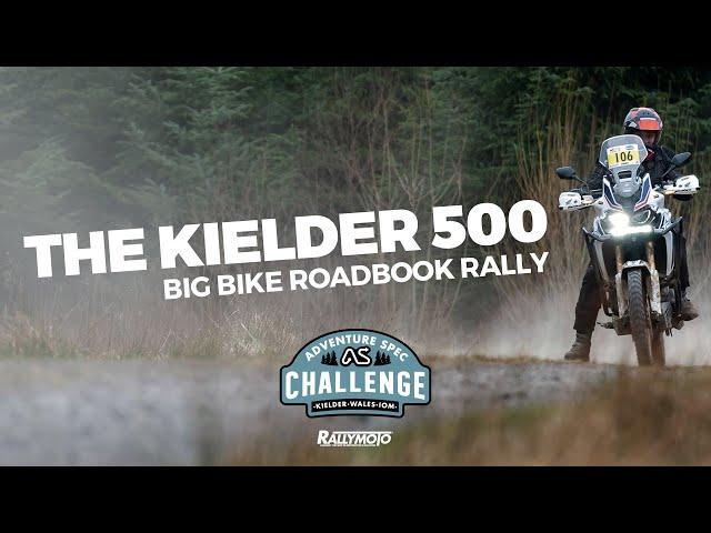 The Kielder 500 - Big Bike Roadbook Rally