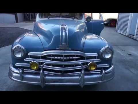 1948 Pontiac Silver Streak 4 door Straight 8