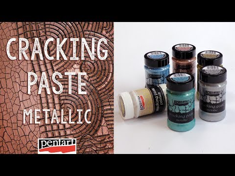Metál repedőpaszta // Cracking Paste Metallic