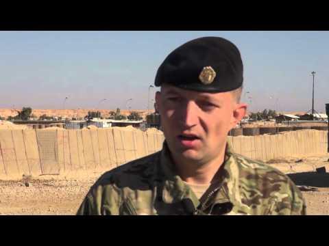 Positive Tilbagemeldinger Til Træningsbidraget I Irak