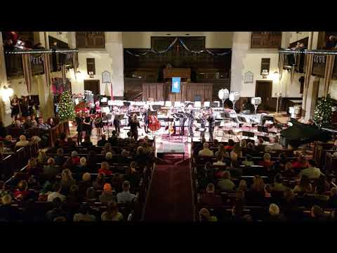 Chestermere High School Band Christmas Concert 2018 at Knox United Church
