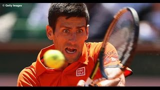Novak Djokovic vs Andy Murray Highlights HD Roland Garros 2015