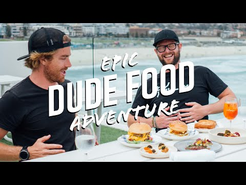 JEEP Sydney DUDE FOOD Adventure: The Most Outrageous Man-Food In The City