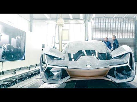 『世界初公開制作風景』Lamborghini Terzo Millennio  Automobili Lamborghini  Centro Style  Mitja Borkert 製作風景