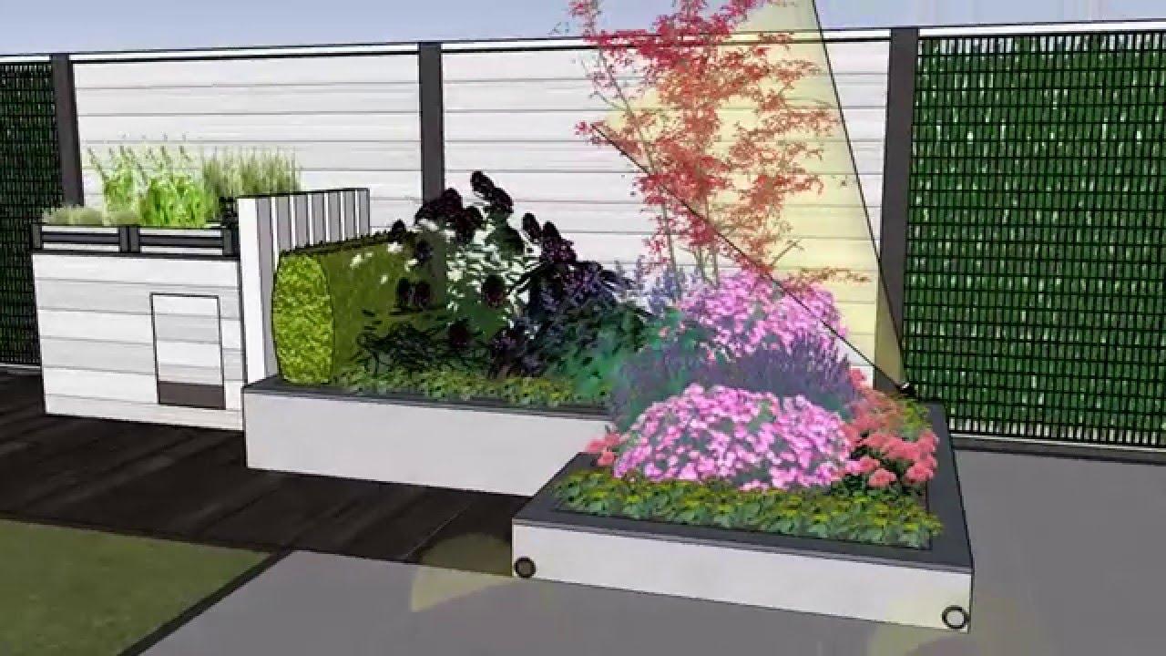 tuinontwerp kleine achtertuin garden design small