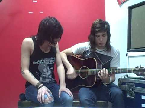 Sleeping With Sirens - If I'm James Dean You're Audrey Hepburn (Acoustic)