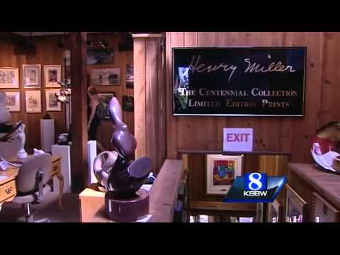 Iconic Big Sur Coast Gallery and Cafe up for sale