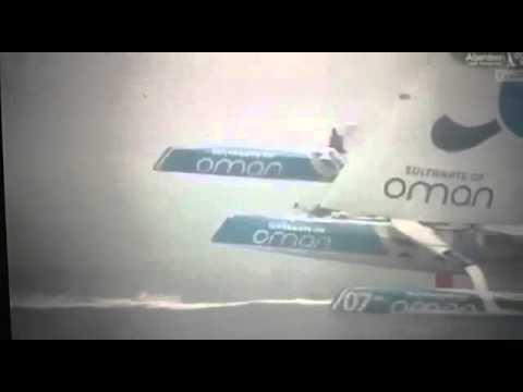 """Victoria del """"MOD70 Musandam-Oman Sail"""" en la Artemis Challenge"""