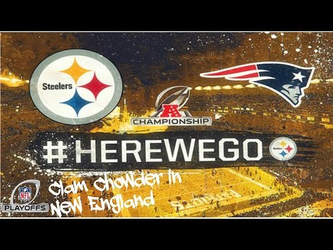 Its Gameday! || Pittsburgh Steelers Vs. New England Patriots || AFC Championship || **HD Quality**