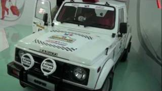 Maruti Suzuki Gypsy - Auto Expo 2012
