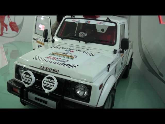 Maruti Suzuki Gypsy At Auto Expo 2012