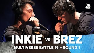 INKIE vs BREZ | Multiverse Beatbox Battle 2019 | 1st Round
