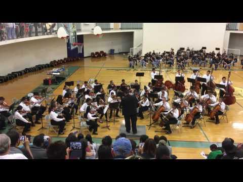 Kenny C Guinn Middle School Spring Concert 2017 - Advanced #2
