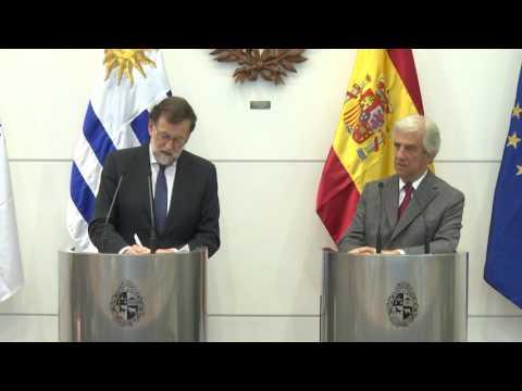 Uruguay y España trabajarán para firmar acuerdo entre Unión Europea y Mercosur