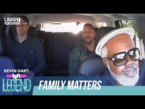 DMac & Steve Urkel Hit the Road  Kevin Hart: Lyft Legend  Laugh Out Loud Network