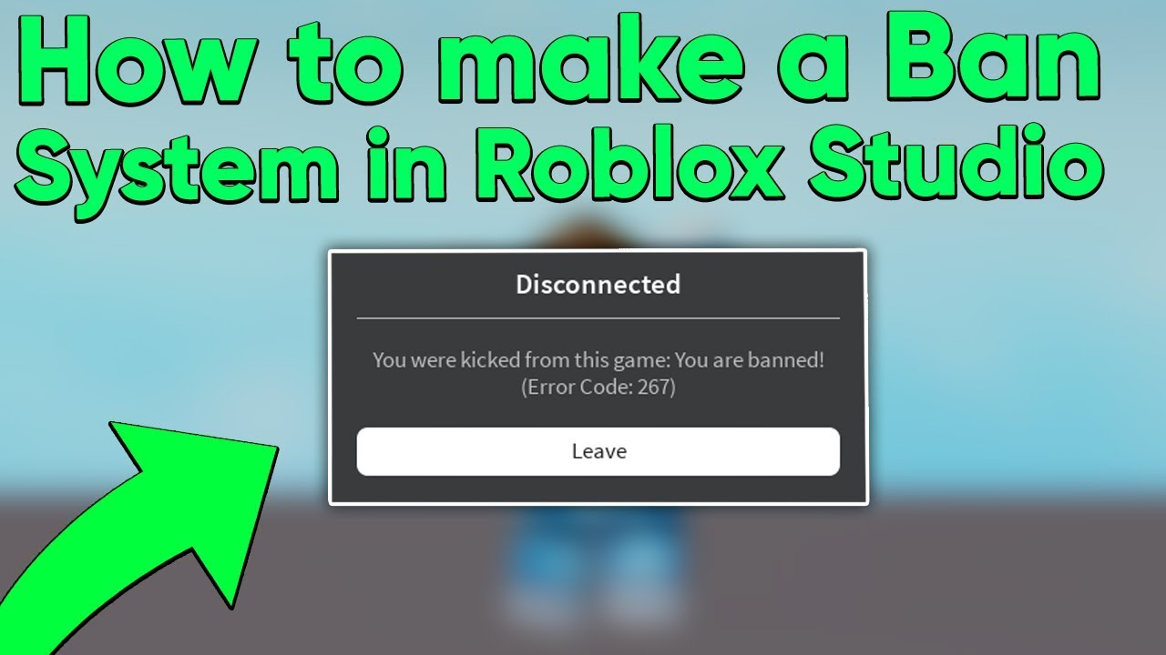 How To Make A Game Unprivate In Roblox How To Make A Ban System In Roblox Studio Youtube
