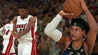 10 3-POINTERS MADE! 52 POINT GAME! NBA 2K20 MyCareer - BUDGET PLAYER (PG BUILD)