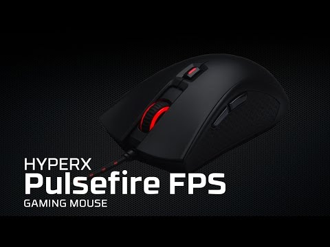 FPS Gaming Mouse - HyperX Pulsefire FPS