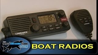Boat Radio reviews - Totally Awesome Fishing Show
