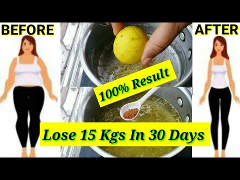 How to lose weight fast Without Exercise | Flat Belly Drink |100% Result In Weight Loss|Lose 10 Kgs