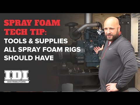 Essential Tools & Supplies Every Spray Foam Rig Needs