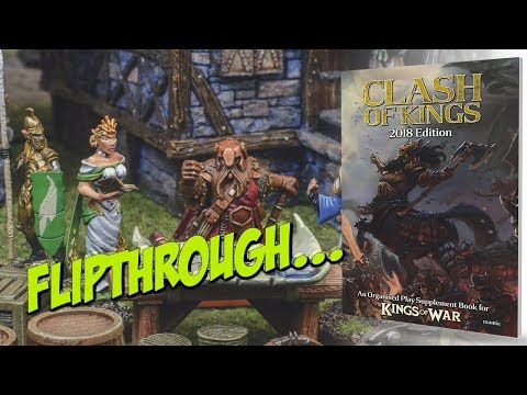 Clash Of Kings: 2018 Edition | Flipthrough