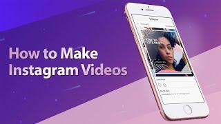 كيفية جعل Instagram الفيديو