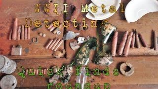 WWII Metal Detecting | Finds roundup from the last few hunts(, 2017-05-08T16:51:20.000Z)