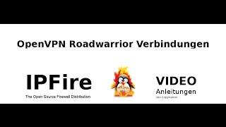 IPFire Openvpn roadwarrior