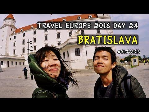 [รีวิวเที่ยว] Travel Europe 2016 Day 24 : Bratislava , Slovakia