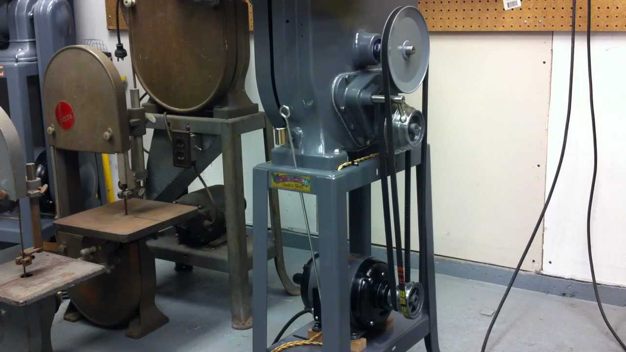 1938 Delta Wood Amp Metal Bandsaw Youtube