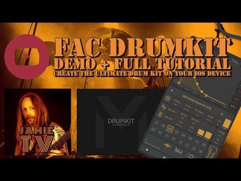 Build Your Perfect Drum Kit in FAC Drumkit - Demo, Tutorial + Giveaway.