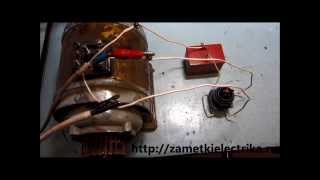 Реверс трехфазного двигателя, подключенного в однофазную сеть(Все подробности читайте на сайте
