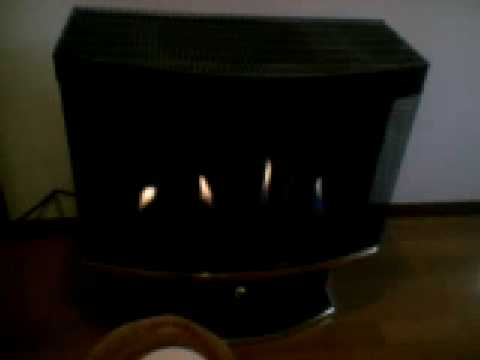 an American fire stove: Perfecta WinRich - YouTube