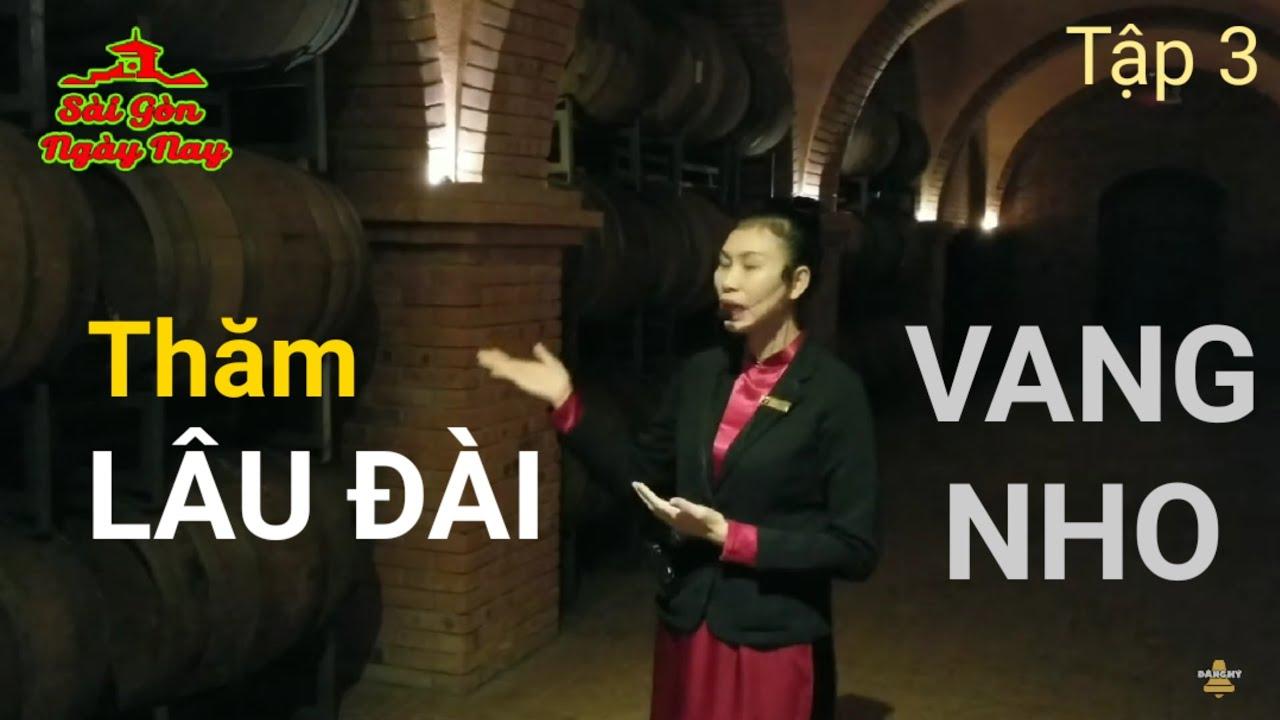 Thăm quan Lâu Đài Vang & sản xuất Vang Nho tại Phan Thiết