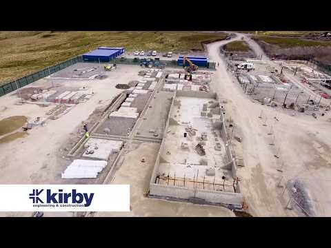 Grousemount 114MW Windfarm Project delivered by Kirby