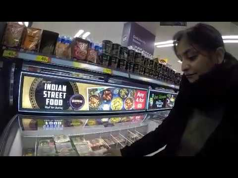 Iceland supermarket Indian Street Food range review