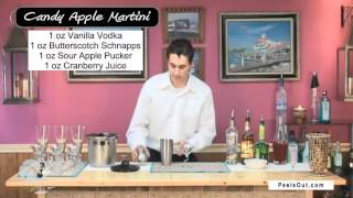 Candy Apple Martini - Peelsout.com