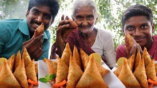 Samosa Recipe   How to make Samosa with Granny Mastanamma